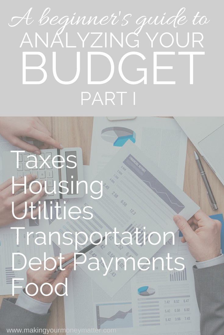 Not sure where to start after creating your budget? Part I will go line by line through determining whether these large expenses are providing value and ways to cut each one if they're not!